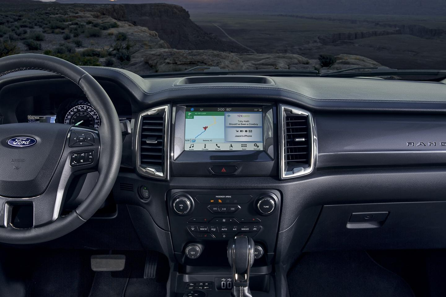 Ford 2020 Ranger Stay Connected. Even Out Here.